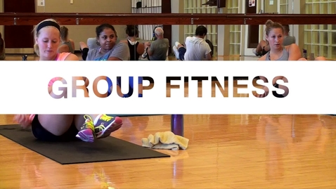 Thumbnail for entry Group Fitness at OSU
