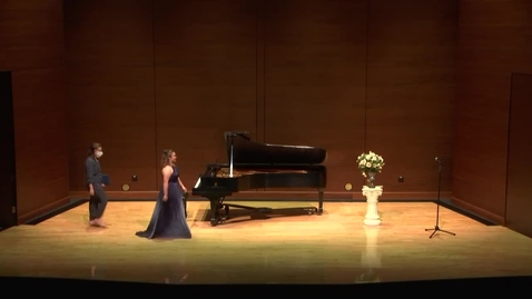 Thumbnail for entry Greenwood School of Music Senior Recital--Erica Skinner