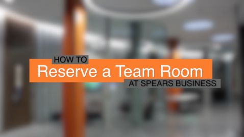 Thumbnail for entry How to Reserve a Team Room at Spears Business