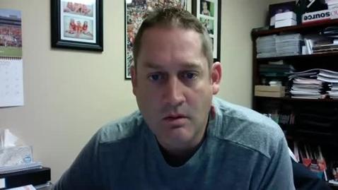 Thumbnail for entry BASEBALL: Baseball Head Coach Josh Holliday Speaks to the Media