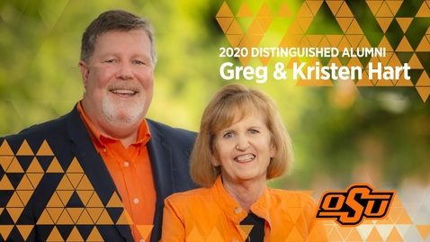 Thumbnail for entry 2020 Distinguished Alumni: Greg and Kristen Hart
