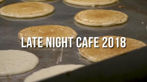 Thumbnail for entry Late Night Café - Spring 2018