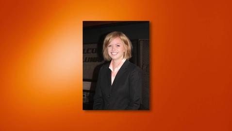 Thumbnail for entry Elisabeth Stukenborg - 2012 Outstanding Senior