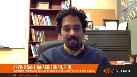 Thumbnail for entry Dr. Arvind Santhanakrishnan on INTERACT