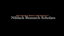 Thumbnail for entry Grace Ogden, 2017-18 Niblack Research Scholar