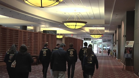 Thumbnail for entry OSU College of Osteopathic Medicine Promotes Medical Careers at State FFA Convention