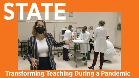 Thumbnail for entry STATE Magazine: Transforming Teaching During a Pandemic