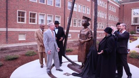 Thumbnail for entry WATCH:  Nancy Randolph Davis Statue Dedication