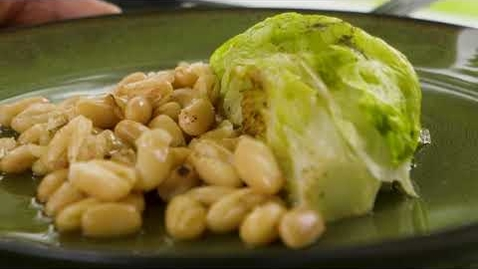 Thumbnail for entry Cooking up Iceberg Lettuce with Cannellini Beans
