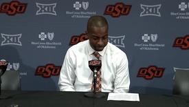 Thumbnail for entry Cowboy Basketball v. Texas Tech Postgame Press Conference: Mike Boynton