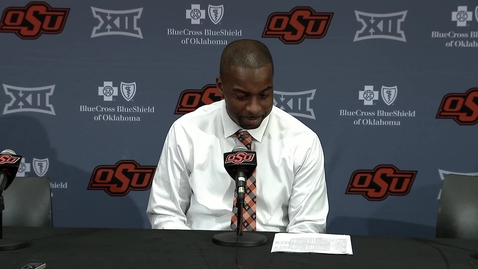 Cowboy Basketball v. Texas Tech Postgame Press Conference: Mike Boynton