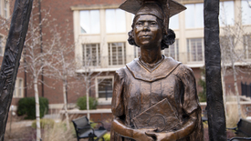 Thumbnail for entry Nancy Randolph Davis Statue Dedication