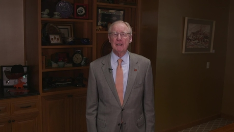 Thumbnail for entry Oklahoma State University President Burns Hargis Update on Fall 2020 Classes
