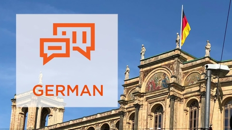 Thumbnail for entry CAS Major Profile: German