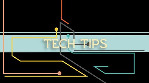 Thumbnail for entry Tech Tips: Color Printing