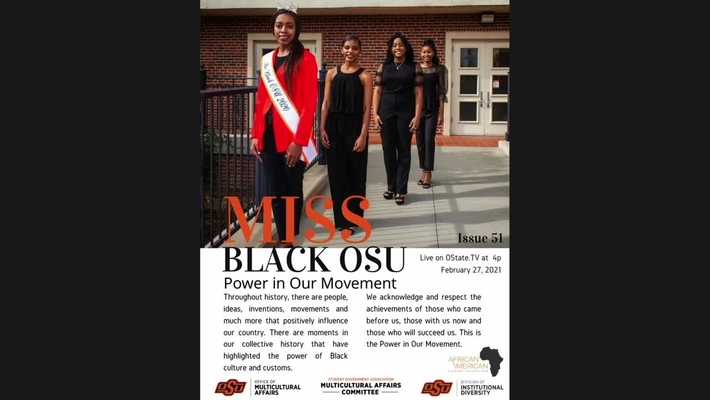 2021 Mr. and Ms. Black OSU Scholarship Pageant