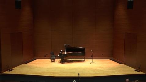 Thumbnail for entry Greenwood School of Music Senior Recital:  Jada Duff