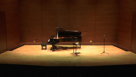 Thumbnail for entry Greenwood School of Music Faculty Recital--Dr. Joseph Cooper