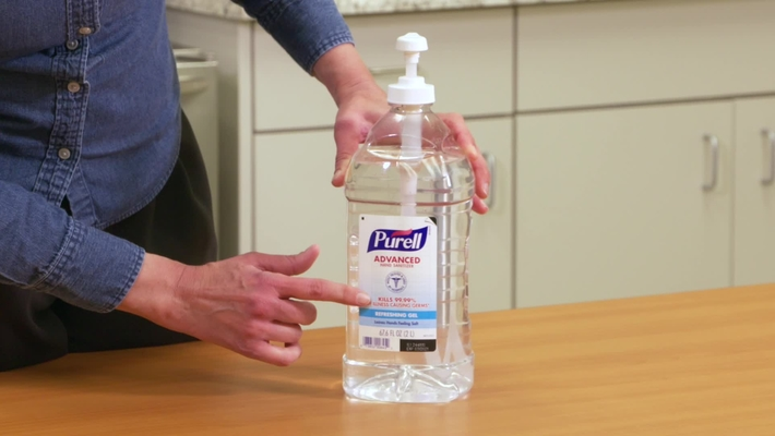 The Proper Way to Use Hand Sanitizer