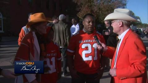 REBROADCAST:  Inside OSU With Burns Hargis Live From Sea Of Orange Homecoming Parade