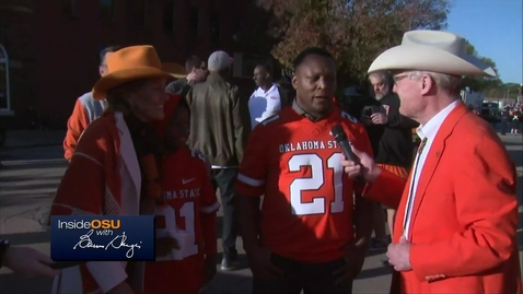 Thumbnail for entry Inside OSU With Burns Hargis: Live From Sea Of Orange Homecoming Parade