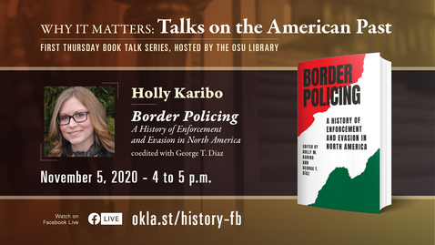 Thumbnail for entry Why It Matters: Talks on the American Past featuring Holly Karibo