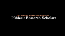 Thumbnail for entry Kassidy Ford, 2017-18 Niblack Research Scholar