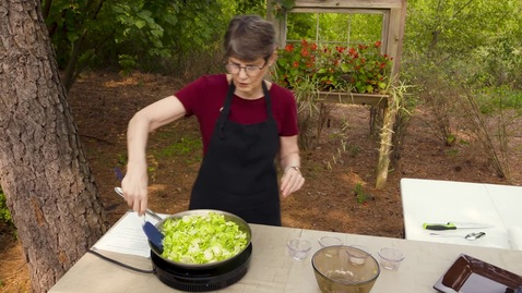 Thumbnail for entry Sautéing Brussel Sprouts with Barbara Brown