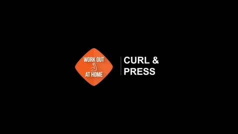 Thumbnail for entry Curl and Press