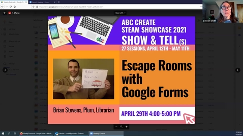 Thumbnail for entry 4-29-2021 Escape Rooms with Google Forms