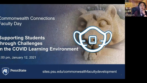 Thumbnail for entry CC: Supporting Students through Challenges in the COVID Learning Environment