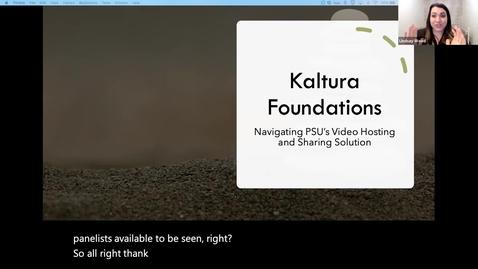 Thumbnail for entry Kaltura Foundations