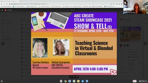 Thumbnail for entry 4-15-2021 Teaching Science in Virtual & Blended Classrooms