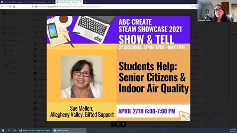 Thumbnail for entry 4-27-2021 Springdale Students Help Senior Citizens with Indoor Air Quality - ABC CREATE Show & Tell