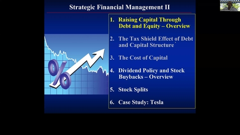 Thumbnail for entry S10 - Raising Capital Through Debt and Equity, Overview.mp4
