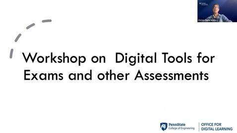 Thumbnail for entry ODL Workshop - Assessments