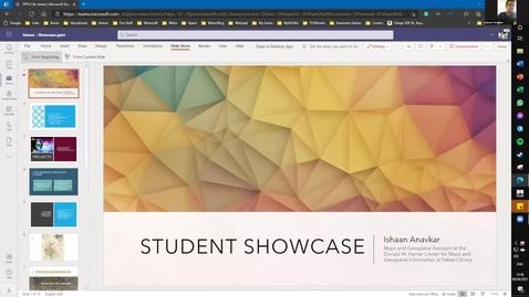 Thumbnail for entry Ishaan Anavkar -- Student Employee Showcase 2021