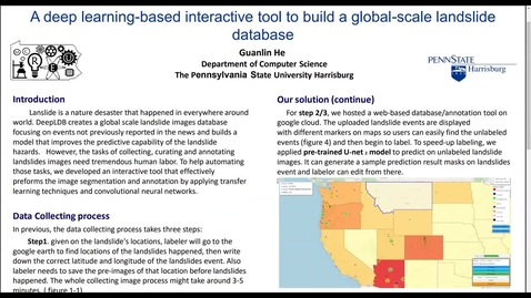 Thumbnail for entry A deep learning-based interactive tool to build a global-scale landslide database