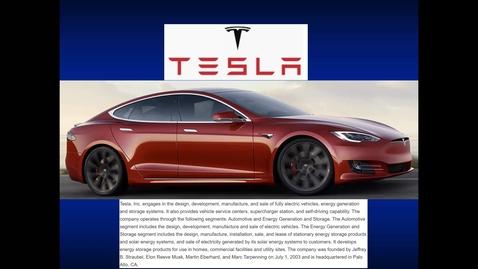 Thumbnail for entry S10 - Tesla Case Study.mp4