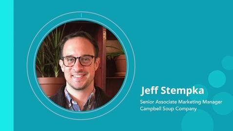 Thumbnail for entry Jeff Stempka - Career Journey B2B to B2C