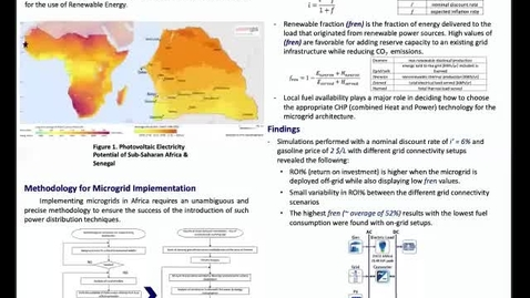 Thumbnail for entry Methodological framework for the implementation of a smart grid in a sub-Saharan country: Senegal