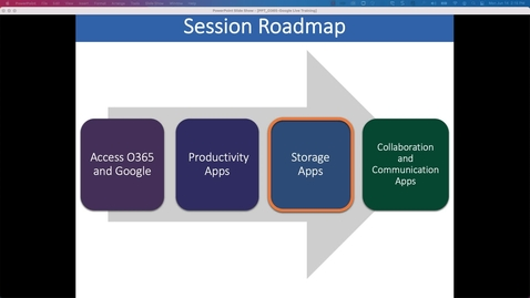 Thumbnail for entry Storage: Working Collaboratively with Office 365 and Google Workspace at Penn State