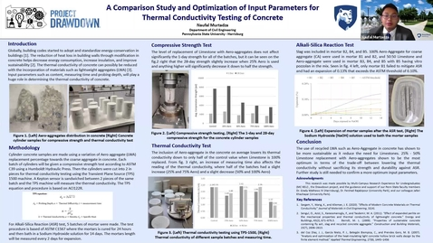 Thumbnail for entry A Comparison Study and Optimization of Input Parameters for Thermal Conductivity Testing of Concrete