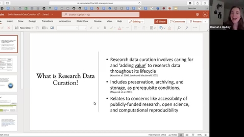 Thumbnail for entry Research Data | Digital Curation Community of Practice