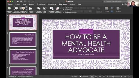 Thumbnail for entry Alyssa Struble -- Student Employee Showcase 2021