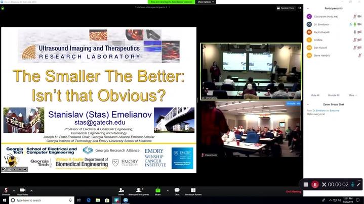 Thumbnail for channel CAV Seminars - 2019