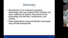 Thumbnail for entry Session 4 Microfluidics Lab Demo
