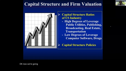 Thumbnail for entry S10 - The Tax Shield Effect of Debt and the Capital Structure II