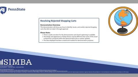 Thumbnail for entry SIMBA Short: Resolving Rejected Shopping Carts