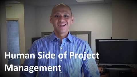 Thumbnail for entry MANGT 510 Lesson 8 Human Side of Project Management